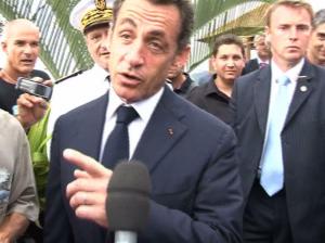 Sarkozy à la Réunio